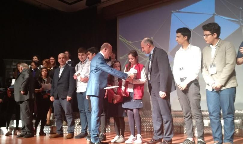 Sanko Ortaokulunun Projesi Türkiye Birincisi Oldu